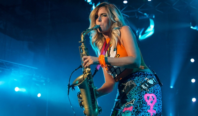 Candy Dulfer and Band © Carolien Sikkenk